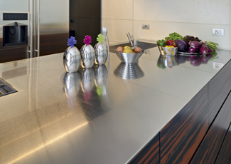 East Seattle, WA Stainless Steel Kitchen Island